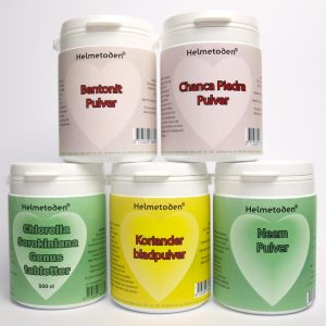 Chlorella Sorokiniana 10 jars - Soulbalancemethod